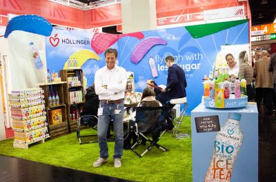 Gerhard@our booth